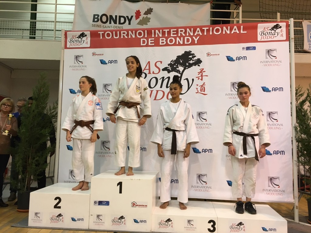 Tournoi international AS Bondy - FFJ 93